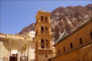 Монастырь св Екатерины на Синае